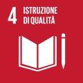 Icona SDG Obiettivo 4