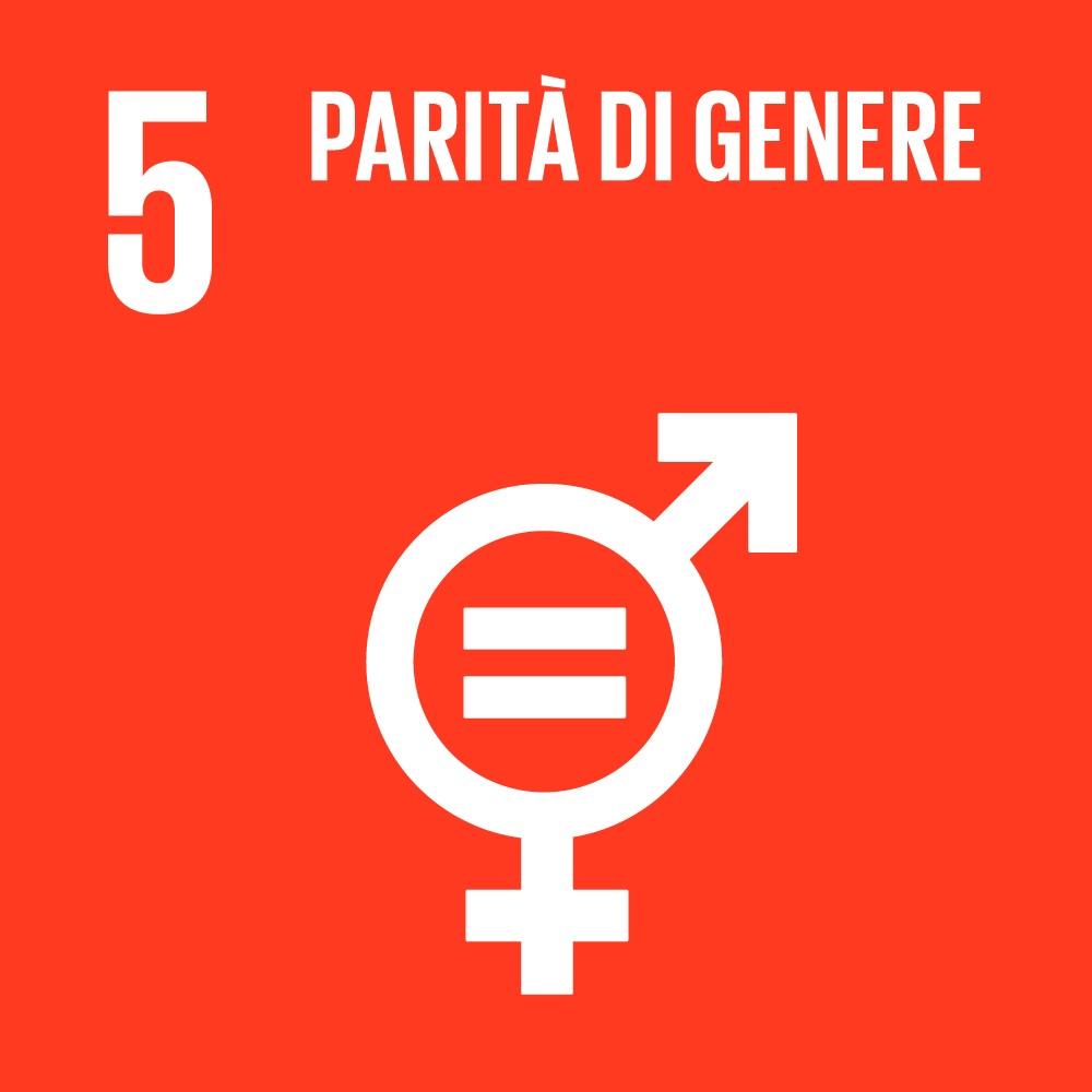 Icona SDG Obiettivo 5