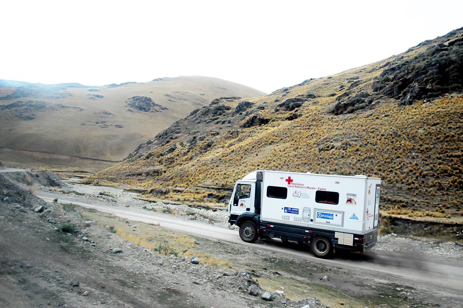 Unità Mobile Apurimac in Perù