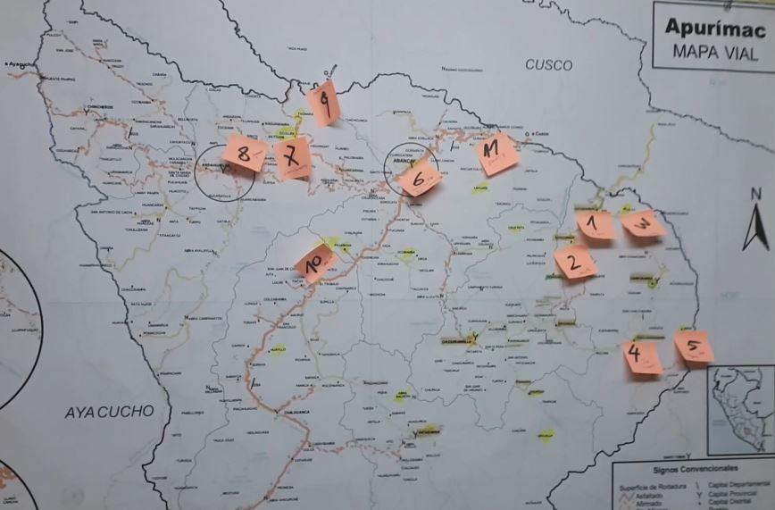 mappa apurimac
