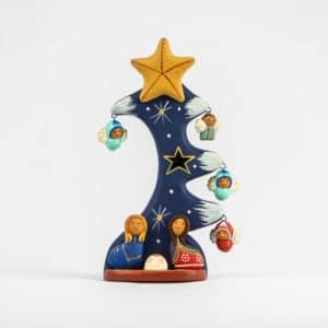 Idee solidali - Natale con Apurimac - Albero di natale con presepe