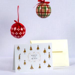Biglietto Alberi di Natale Apurimac